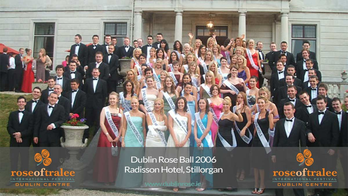 2006 Dublin Rose Gala Ball - Stillorgan Park Hotel